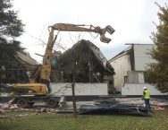 Haas Au/Donau, Brandschaden